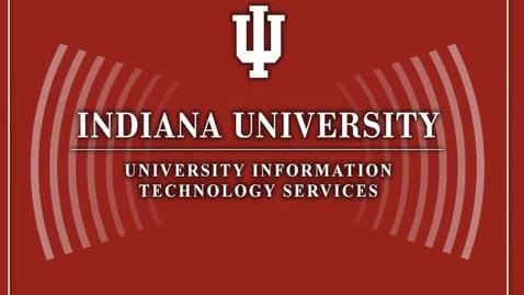 Thumbnail for entry IU to establish FutureGrid