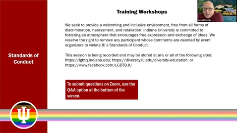 Thumbnail for entry Training Workshop: Social Justice 101, 3/16/2021