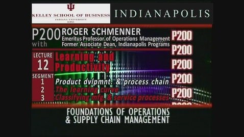 Thumbnail for entry P200_Lecture 12_Segment 1: Product Development & Process Chain