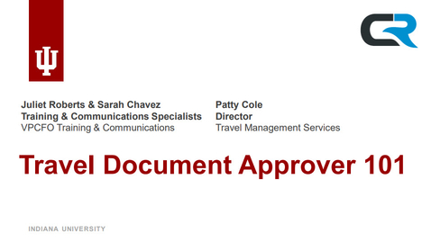 Thumbnail for entry Travel Document Approver 101