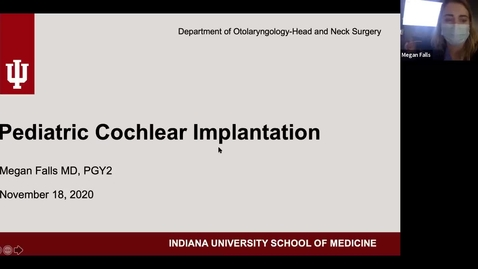 Thumbnail for entry 11.18.2020 Department of Otolaryngology Grand Rounds