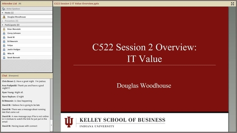Thumbnail for entry dwoodhou MP4s_C522 Woodhouse_C522 Woodhouse Module 2 Overview