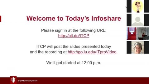 Thumbnail for entry UPN Infoshare February 13, 2019
