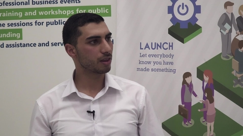 """Thumbnail for entry CIBER Focus: """"Startup Companies and Entrepreneurship in Palestine - Part 7"""" with Ahmad Abu Aisheh - November 19, 2017"""