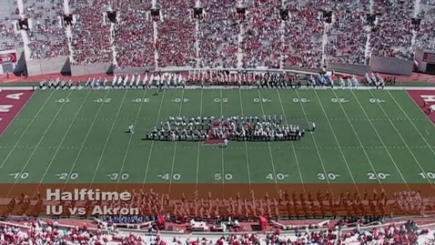 Thumbnail for entry 2007-09-15 vs Akron - Halftime (Band Day)