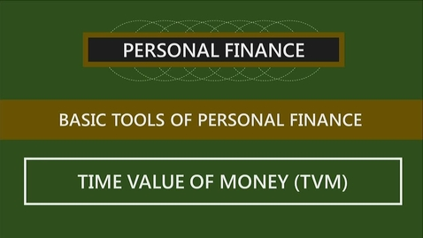 Thumbnail for entry F251 02-3 The Time Value of Money