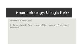 Thumbnail for entry NB Neurtoxin 2017 Biologics
