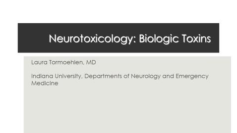 Thumbnail for entry NB Neurtoxin 2017 Biologics