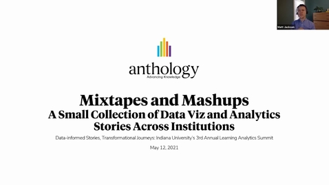 Thumbnail for entry Mixtapes and Mashups - A Small Collection of Data Viz and Analytics Stories Across Institutions