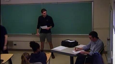 Thumbnail for entry Robert Rajfer - Speech #3 Invitational Rhetoric