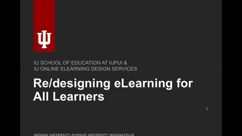 Thumbnail for entry Tips for Designing with Accessibility and UDL in Mind