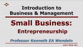 Thumbnail for entry X100_Lecture 05-Segment 2_Entrepreneurship