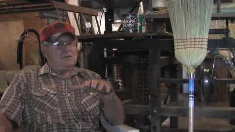 Thumbnail for entry Elmer Schlensker : The Broom Maker of Milltown