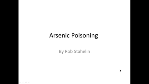 Thumbnail for entry Screen Capture - 2016 arsenic and copper