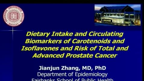 Thumbnail for entry IUSCC  Grand Rounds, March 23, 2018, Jianjun Zhang, MD, PhD