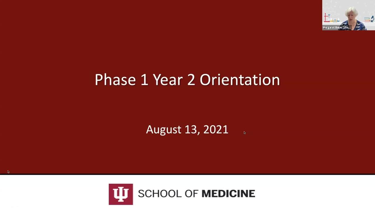2021-2022 Year 2 Orientation