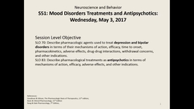 Thumbnail for entry WL - NB - 170503 - Rochet - Treatments of Depression Bipolar and Anxiety Disorders