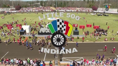 reputable site ce1a7 1208c Video thumbnail for IUSF Little 500 Men s Race