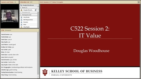 Thumbnail for entry dwoodhou MP4s_C522 Woodhouse_C522 Woodhouse W13 Session 2 IT Value.mp4