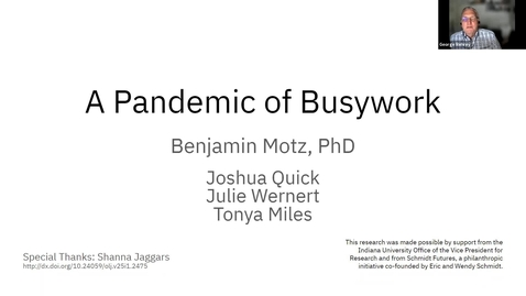 Thumbnail for entry A Pandemic of Busywork