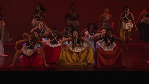 Thumbnail for entry A Performance by IU's African American Dance Company