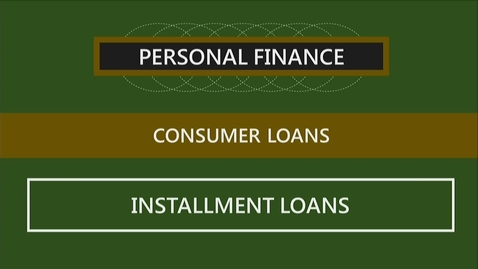 Thumbnail for entry F251 07-2 Installment Loans