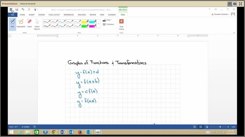 Thumbnail for entry M215_1.2 Graph Transformations_0