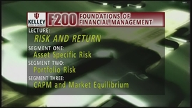 Thumbnail for entry F200_Lecture 07_Segment 1: Asset Specific Risk