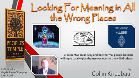 Thumbnail for entry Honors Presentation Collin Kriegbaum