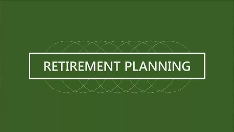 Thumbnail for entry F152 14-1 Understanding Your Retirement Needs