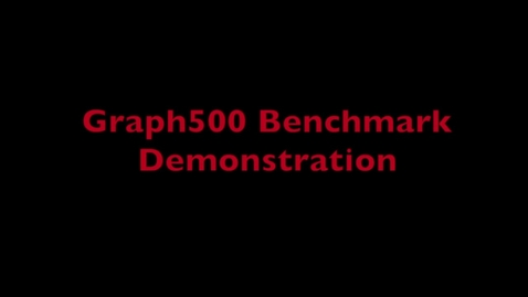Thumbnail for entry L4 Graph500 Demo