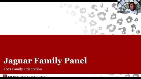 Thumbnail for entry Family Orientation 2021: Jaguar Family Panel - 6/8