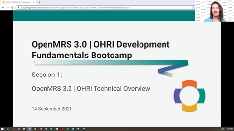 Thumbnail for entry Session 1: OpenMRS 3.0: OHRI Fundamentals