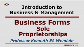 Thumbnail for entry X100_Lecture 03-Segment 2_Sole Proprietorships