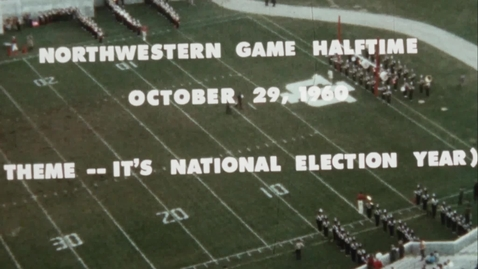 Thumbnail for entry 1960-10-29 vs Northwestern - Halftime