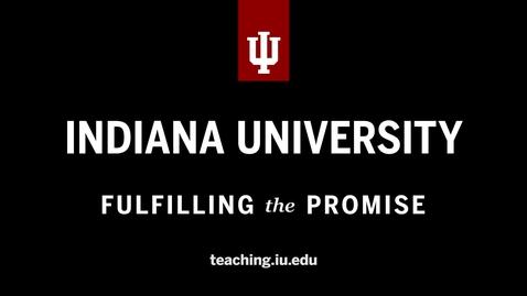 Thumbnail for entry teaching.iu.edu version 1