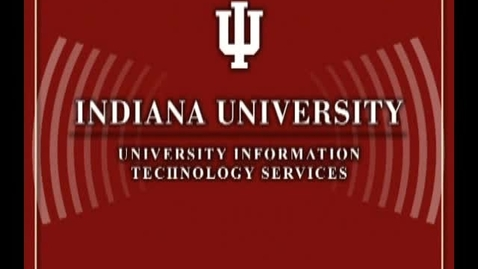 Thumbnail for entry Indiana University and ChaCha: Vision and Progress