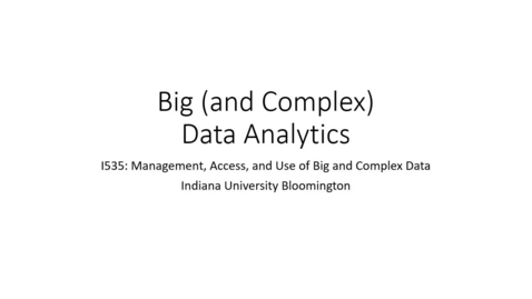 Thumbnail for entry Big data analytics