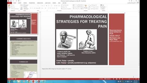 Thumbnail for entry WL - NB - 170418 - Van Rijn - Pharmacologic Methods of Chronic Pain Control