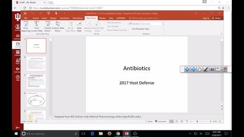 Thumbnail for entry SB-HD-antibiotics 2017 Feb 28 10:01:01