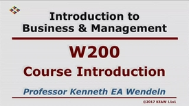 Thumbnail for entry W200 00 Course Introduction