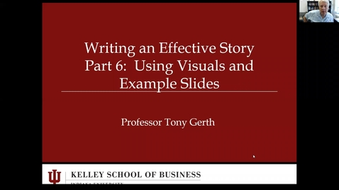Thumbnail for entry Writing the story_Part 6_Using visuals