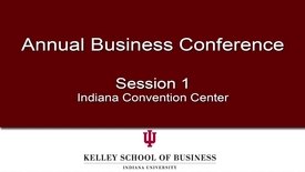 Thumbnail for entry 2011 Annual Business Conference: Session 1