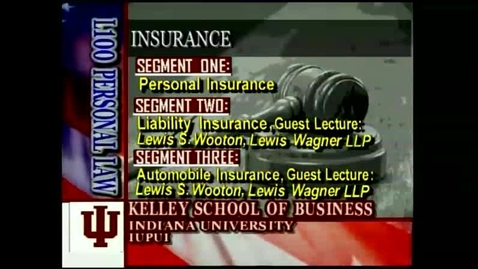 Thumbnail for entry L100 12-1 Personal Insurance
