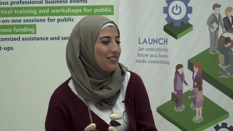 "Thumbnail for entry CIBER Focus: ""Startup Companies and Entrepreneurship in Palestine - Part 4"" with Lina Faroun - November 19 2017"