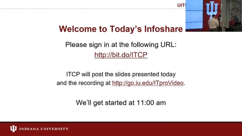 Thumbnail for entry IT-28 And Risk Mitigation Infoshare 1 (of 3)