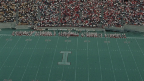 Thumbnail for entry 1984-10-27 vs Iowa - Halftime