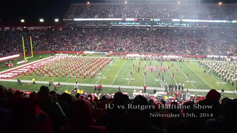 Thumbnail for entry 2014-11-15 at Rutgers - Halftime