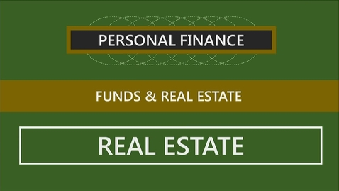 Thumbnail for entry F152 13-3 Investing in Real Estate