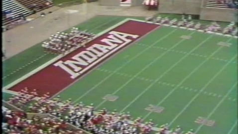 Thumbnail for entry 1985-10-05 vs Northwestern - Pregame